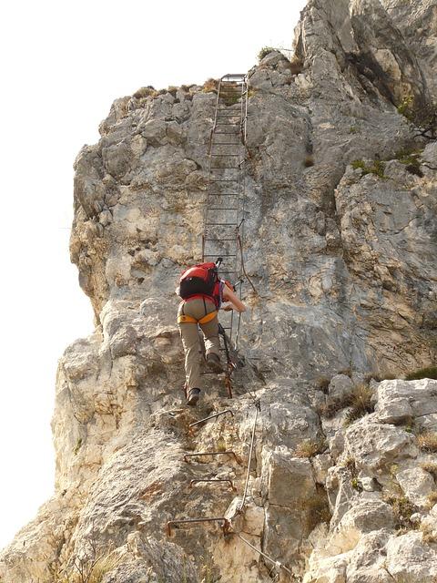 Climbing  an Emotional Ladder