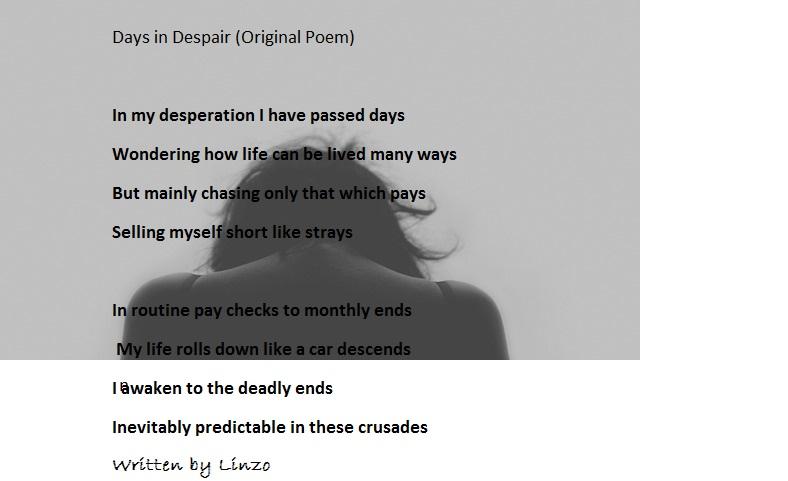 days in despair