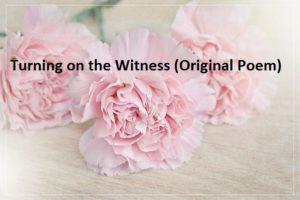 Turning on the Witness (Original Poem)